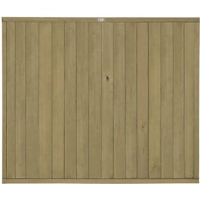 Forest VTGP5PK3HD Vertical Tongue & Groove Fence Panel 6 x 5