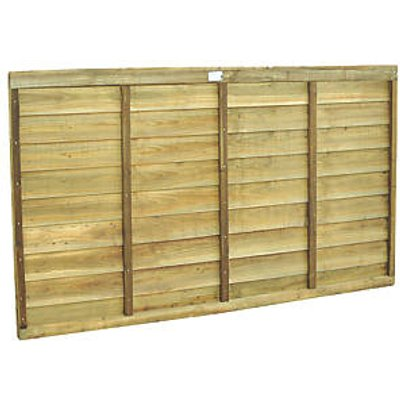 Forest Super Lap Fence Panels 6 x 3