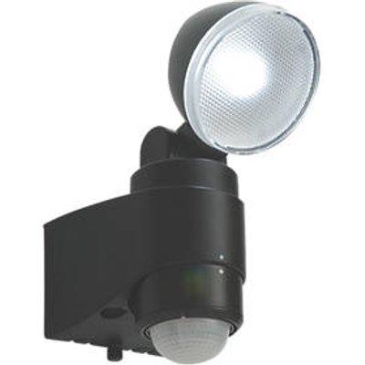 Saxby Laryn Outdoor LED Floodlight With PIR Sensor Black 1 x 2W 160lm (5278J)