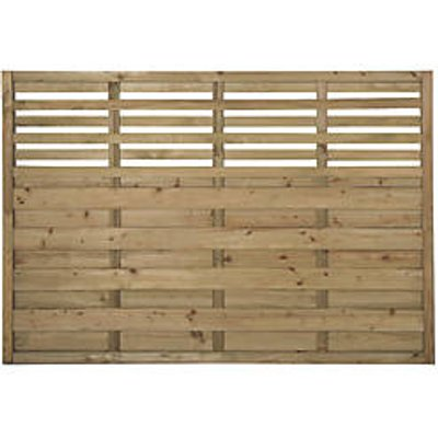 Forest Kyoto Lattice Top Fence Panels 6 x 4