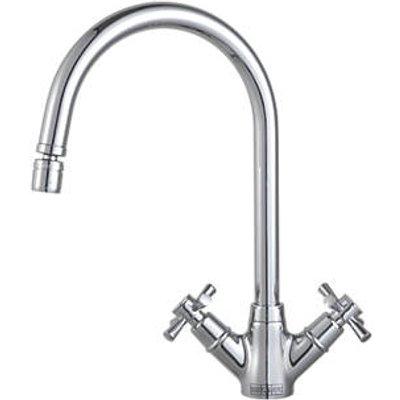 Franke Rotaflow Sink-Mounted Mono Mixer Kitchen Tap Chrome (54937)