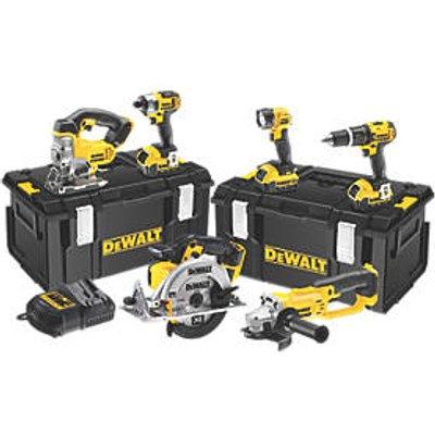 DeWalt DCK691M3-GB 18V 4.0Ah Li-Ion XR Cordless 6-Piece Power Tool Kit (55543)
