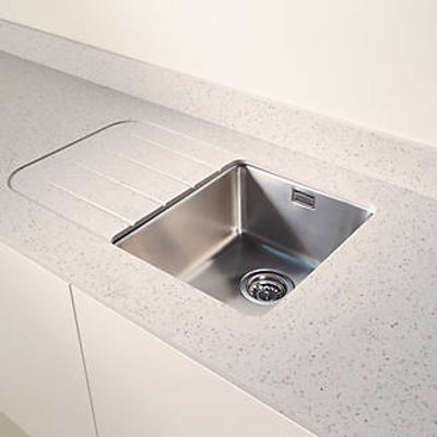 Metis  Ice Sink Module with 1 Bowl Stainless Steel Sink 3050 x 620 x 15mm (558PH)