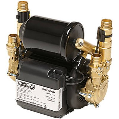 Stuart Turner Monsoon Universal Regenerative Twin Shower Pump 1.5bar (5628X)
