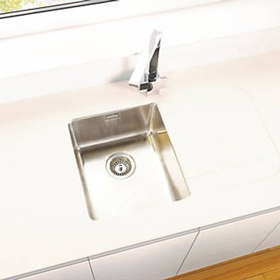 Metis  Sand Sink Module with 1 Bowl Stainless Steel Sink 3050 x 620 x 15mm (570PH)