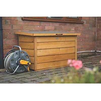 Forest Garden Timber Storage Box 3