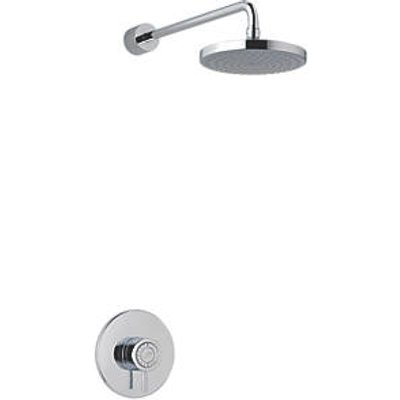 Mira Element BIR Rear-Fed Concealed Chrome Thermostatic Mixer Shower (5871R)