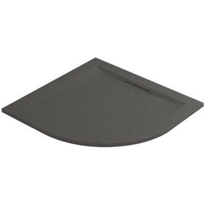 Mira Flight Level Quadrant Shower Tray Slate Grey 900 x 900 x 25mm (593HR)