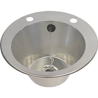 Franke  1 Bowl Stainless Steel Inset Washbasin 385 x 160mm (5943P)