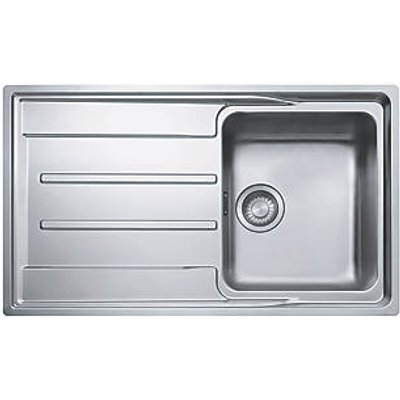 Franke Aton Sink Stainless Steel 1 Bowl 864 x 514mm (596JK)