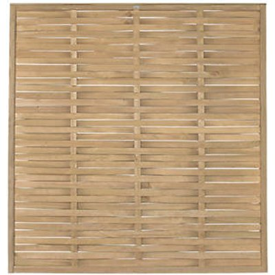 Forest WFP18PK5HD Woven Fence Panel 6 x 6