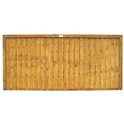 Forest Closeboard Fence Panels 6 x 3