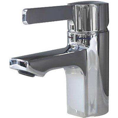 Franke F5L-Mix F5LM1001 Single Lever Commercial Bathroom Pillar Mixer Tap Chrome (636HX)