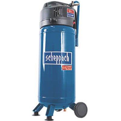 Scheppach HC51V 50Ltr Electric Oil-Free Compressor 240V (646FG)