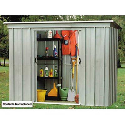 Yardmaster  Sliding Door Metal Store  6 x 3