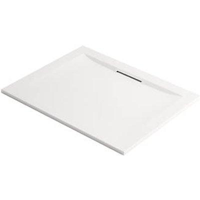 Mira Flight Level Rectangular Shower Tray White 1000 x 800 x 25mm (665HR)