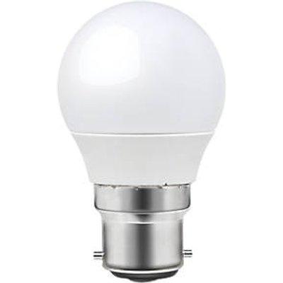 LAP BC Mini Globe LED Light Bulb 470lm 6W 3 Pack (6721T)