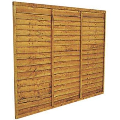 Forest Lap Fence Panels 6 x 5
