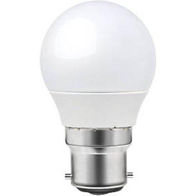 LAP BC Mini Globe LED Light Bulb 470lm 6W 3 Pack (6926T)