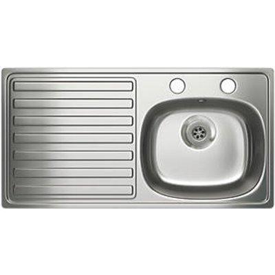 Carron Phoenix Kitchen Sink Stainless Steel 1 Bowl 940 x 485mm (69853)