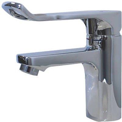 Franke F5L-Mix F5LM1010 Single Lever Accessible Bathroom Pillar Mixer Tap Chrome (703HX)