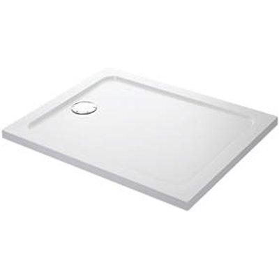 Mira Flight Low Rectangular Shower Tray White 1600 x 760 x 40mm (7100X)