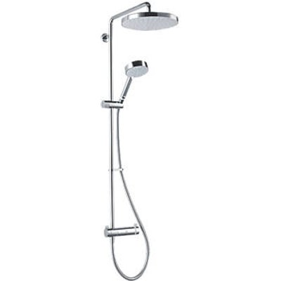 Mira Agile ERD+ Rear-Fed Exposed Chrome Thermostatic Mixer Shower w/Diverter (710HX)