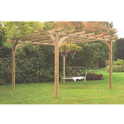 Forest Ultimate Pergola  3600 x 3600 x 2800mm (7187K)
