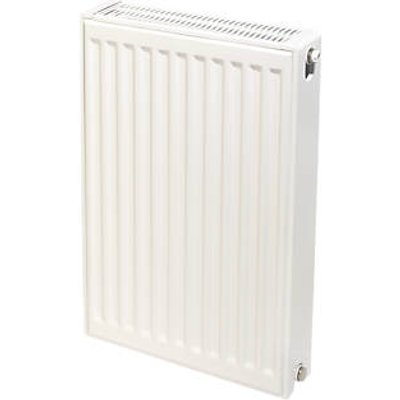 Stelrad Accord Compact Type 22 Double-Panel Double Convector Radiator 600 x 400mm White 2283BTU (719HV)