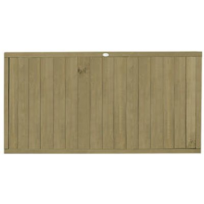 Forest VTGP3PK4HD Vertical Tongue & Groove Fence Panel 6 x 3