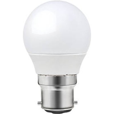 LAP BC Mini Globe LED Light Bulb 250lm 3.3W 3 Pack (7276T)