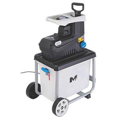 Mac Allister MSHP2800D-2 2800W 100kg/hr Shredder 220-240V (727FG)