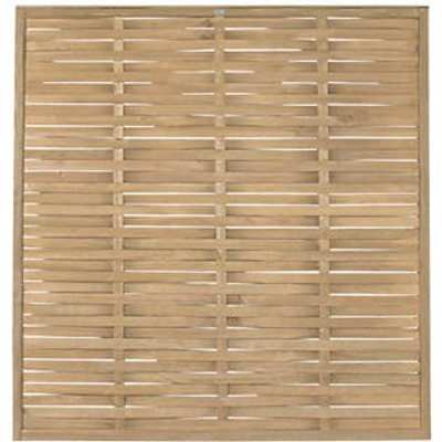 Forest WFP18PK3HD Woven Fence Panel 6 x 6