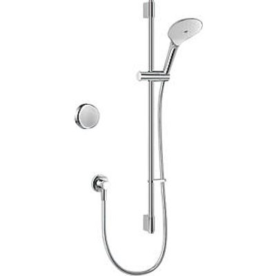 Mira Activate HP/Combi Rear-Fed Single Outlet Chrome Thermostatic Digital Mixer Shower (749KJ)