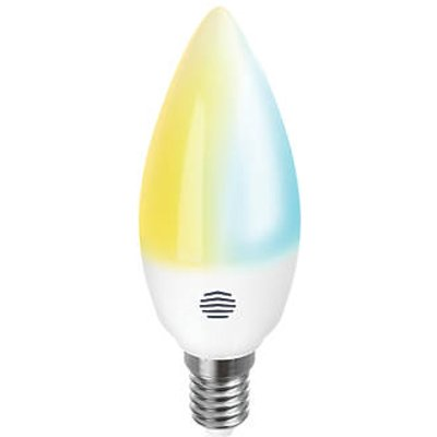 Hive Active LED Candle SES Tunable Smart Bulb Variable White 5.3W 470Lm (750HT)