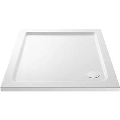 Cassellie  Square Shower Tray White 900 x 900 x 40mm (762JJ)