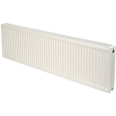 Stelrad Accord Compact Type 22 Double-Panel Double Convector Radiator 450 x 1400mm White 6330BTU (763HV)
