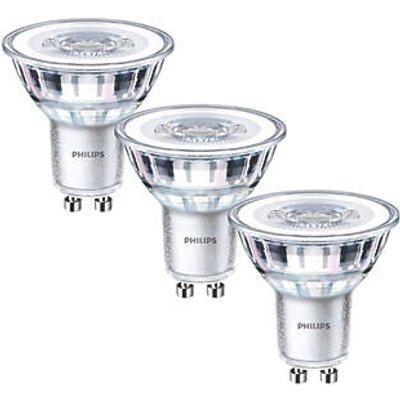 Philips GU10 LED Light Bulb 255lm 3.5W 3 Pack (7682P)