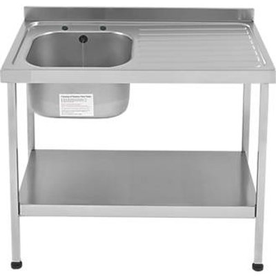 Franke Mini Catering Sink Stainless Steel 1 Bowl 1000 x 600mm (7703G)