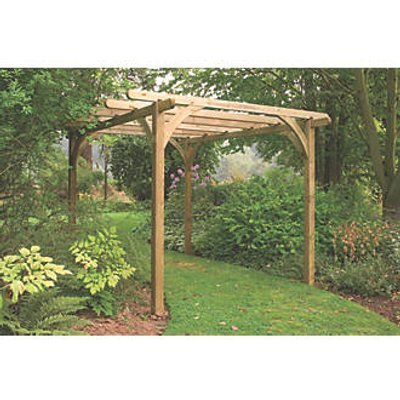 Forest Ultimate Pergola  2700 x 2700 x 2700mm (7873K)
