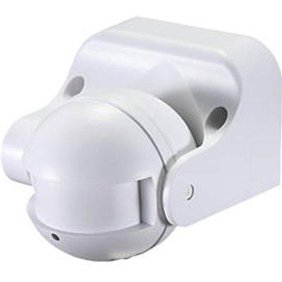 Zinc  Indoor & Outdoor White Microwave Wall-Mount Sensor 360� (8029R)