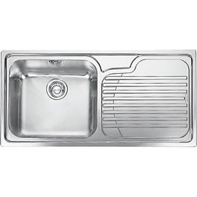 Franke Galassia Inset Kitchen Sink Stainless Steel 1 Bowl 1000 x 500mm (8045F)