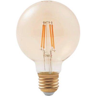 Diall ES G200 LED Virtual Filament Light Bulb 470lm 5.5W (806FY)