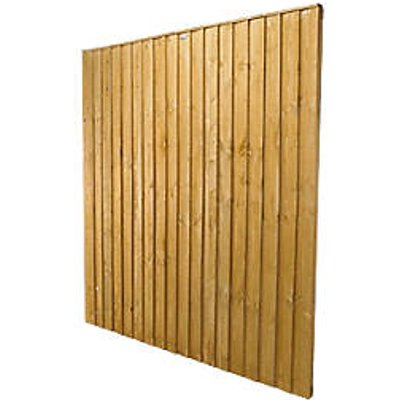 Forest Feather Edge Fence Panels 6 x 5