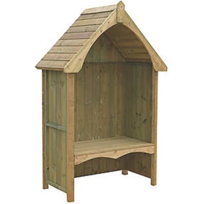 Shire Balsam Arbour Natural 1240 x 650 x 2170mm (83239)