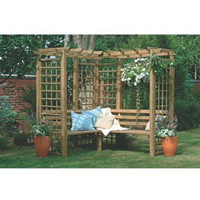 Forest Sorrento Arbour Natural 1900 x 2170 x 2020mm (83304)