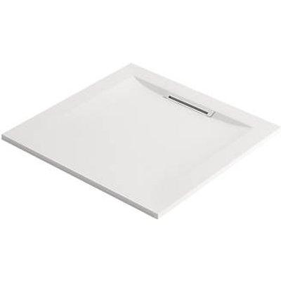 Mira Flight Level Safe Square Shower Tray White 800 x 800 x 25mm (837HR)