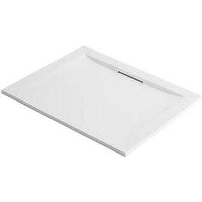 Mira Flight Level Safe Rectangular Shower Tray White 1000 x 800 x 25mm (847HR)