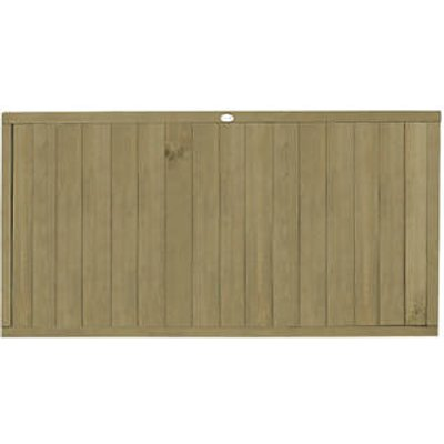 Forest VTGP3PK3HD Vertical Tongue & Groove Fence Panel 6 x 3
