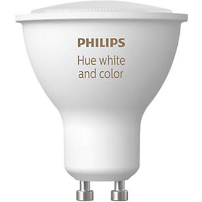 Philips Hue Ambiance Bluetooth LED GU10 Smart Light Bulb Colour-Changing 50W 806Lm (870HY)